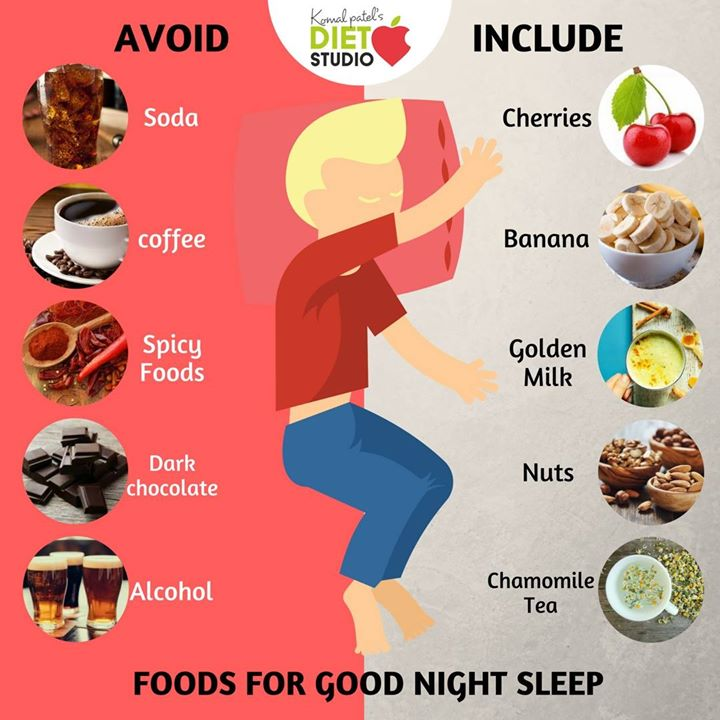 Foods To Eat Before Bed To Sleep Well