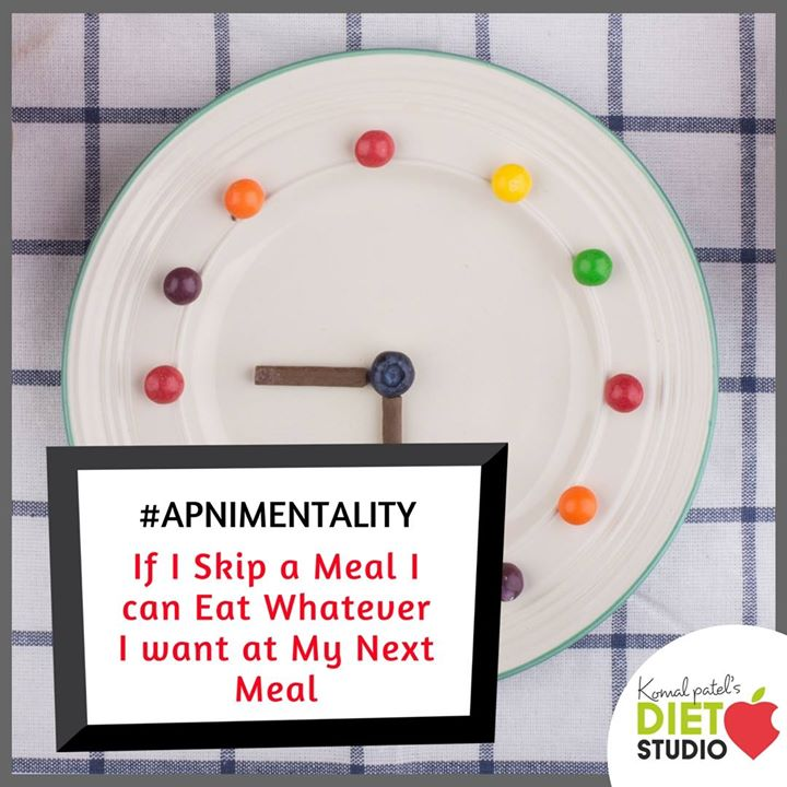 Most of us do the same  Do u agree? #apnimentality #dietfear #diet #komalpatel #dietitian #nutrionist