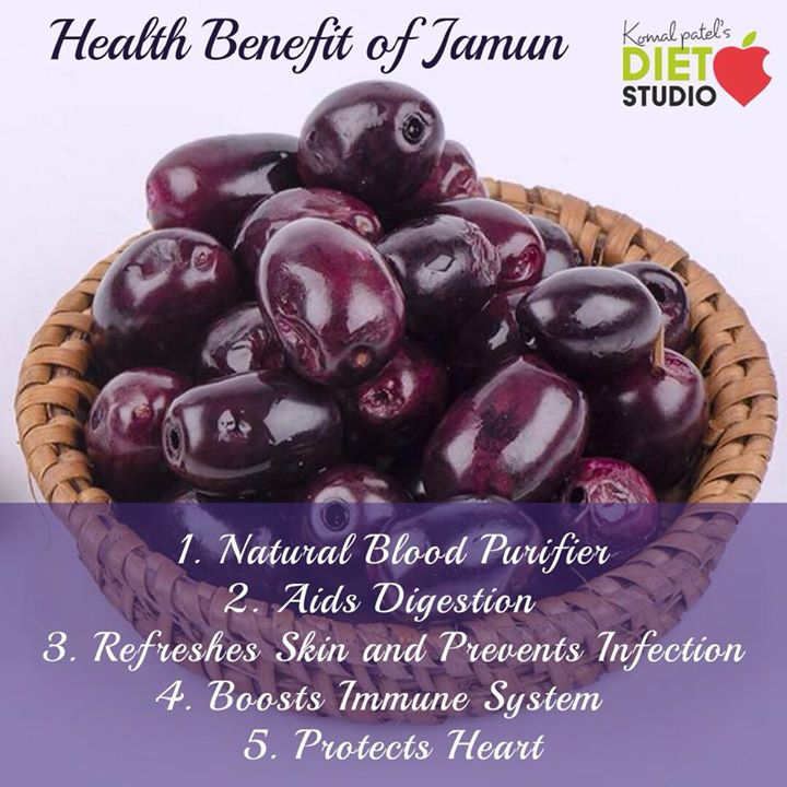 Jamun or Black plum is an important summer fruit, associated with many health and medicinal benefits. #jamun #plums #blackberries #health #benefits #diabetes