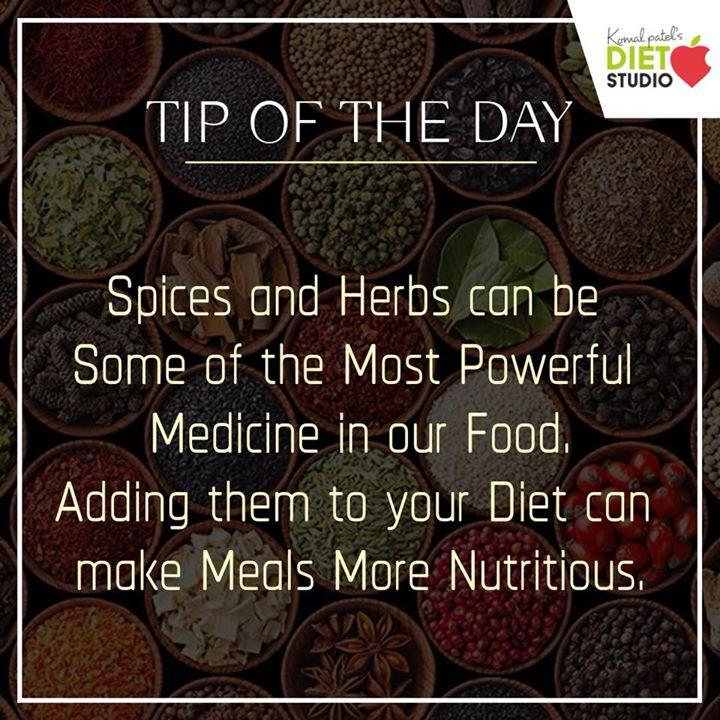 Komal Patel,  spices, herbs, nutrition, turmeric, cinnamon, health, medicine, food