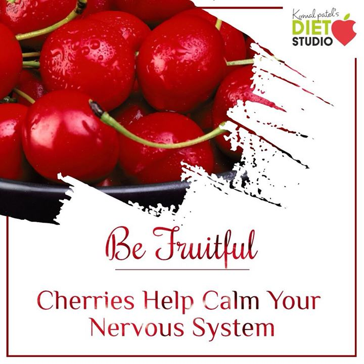 #befruitful  The nutrients in fruit are vital for health and maintenance of your body.  Fruit for a reason  #fruit #benefits #cherries #nervous #calm #antioxidant #seasonalfruit