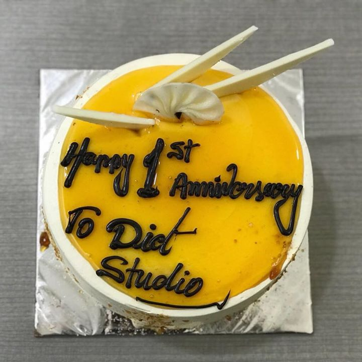 Need a reason to have a cake and today it is. Thank you Mansi Shah and parinshah for this cake. Thank you for all the support for success of diet studio. #dietstudio #dietclinic #dietitian