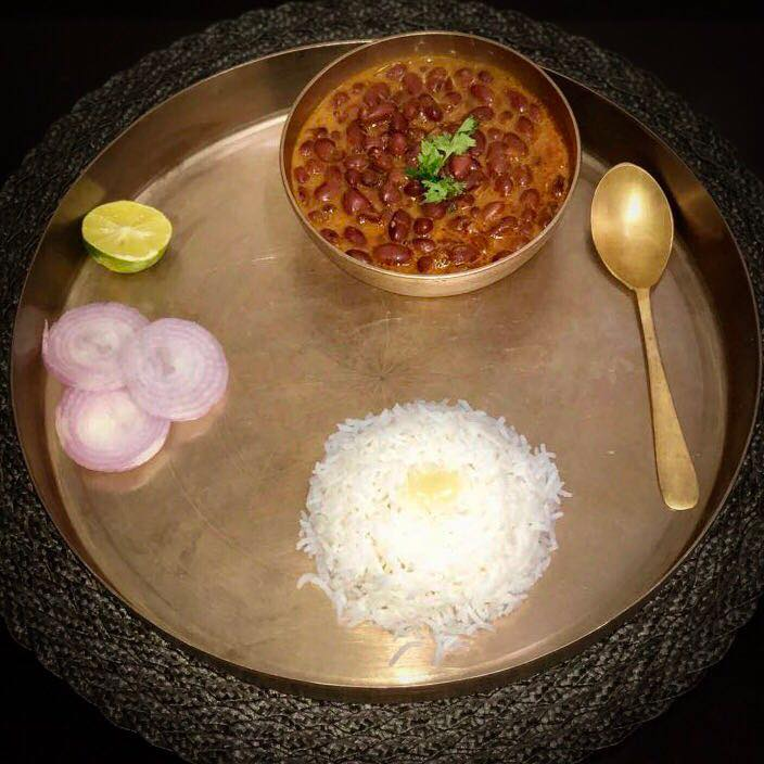 Today's dinner Rajma chawal #rajma #chawal Rajma chawal is a simple yet delicious meal. Rajma is rich and iron and protein when it is combined with rice it is a great source of good carbohydrates. So it makes a wholesome meal.  #meal #dinner #balanced