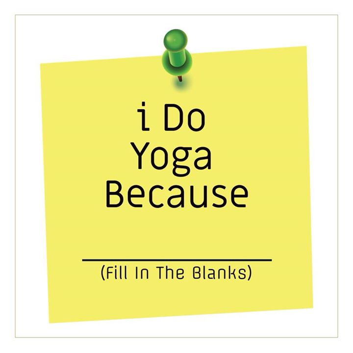 Let's check out reasons for yoga. I do yoga for better posture. What's your reason ? #yoga #yogaday