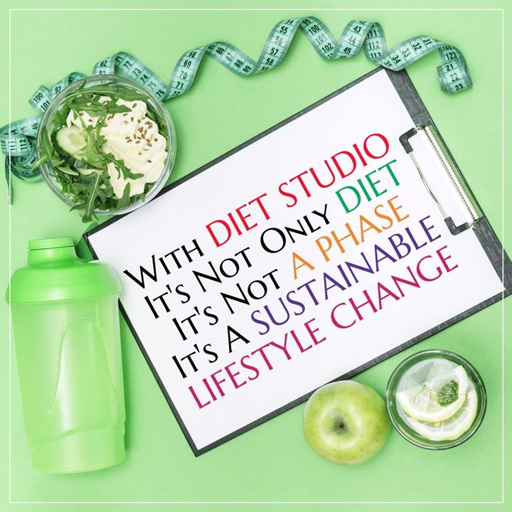 At diet studio its not just a plan, Its a lifestyle change. #dietstudio #dietplans #dietitian #lifestyle #healthylifestyle #dietclinic #nutrition #ahmdabad #clinic #bestdietitian #weightloss #fatloss