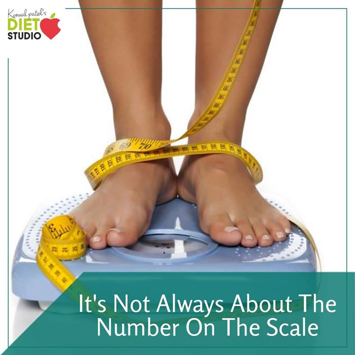 Its not always about the number on scale.  The real goal for your weight loss journey should be to preserve as much muscle as possible, or possibly even gain some, all while losing as much fat as possible. Instead of chasing grams and kilograms (weight) focus on fat loss by making lifestyle changes like eating right, physical exercise, positive thinking.  #fatloss #weightloss #fats #healthyweightloss #weight #dietplan #diet #healthyeating