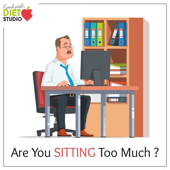 Sit all day at the office? You might want to rethink that. Long hours in the chair are bad for your health. Unfortunately, sedentary behavior, or sitting too much, is now at an all-time high. ▪️People who sit for long periods of time are more likely to be overweight or obese. ▪️Long-term sedentary behavior increases the risk of health conditions like type 2 diabetes and heart disease.  ▪️Inactivity is believed to play a direct role in the development of insulin resistance.  How to take a stand 🔸stand up and stretch every hour or so. 🔸take a stroll around the office 🔸stand at your desk for some part of the day.  #sitting #addiction #smoking #sedentary #lifestyle #obese #officehours #officework #officehealth