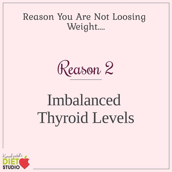An Underactive Thyroid Can Substantially Slow Your Metabolism and Make it Hard to Lose Weight.. #weightloss #reason #thyroid #imbalance