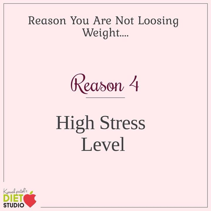 Stress and weight gain, or lack of weight loss go hand in hand. Too much stress increases the production of cortisol. Not only does this increase appetite, it can also cause extra fat storage.. #reason #weightloss #stress #fat