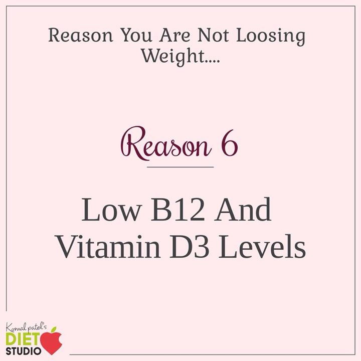 Low levels of vitamins and minerals can be a factor for not absorbing the nutrients... Which in turn can be a reason for not loosing weight ... #weightloss #factors #absorbtion #nutrients