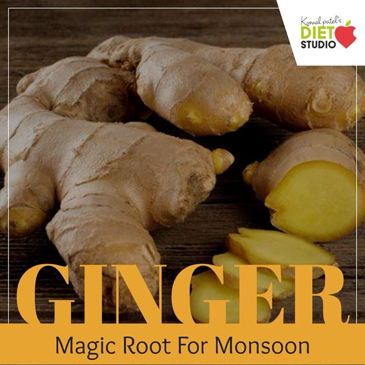 Ginger, a rich source of chromium, magnesium and zinc improves the overall blood flow. Ginger is a potent antioxidant that boosts the immune system naturally So this monsoon include ginger in your meals.. #monsoon #ginger #antioxidant #immunity
