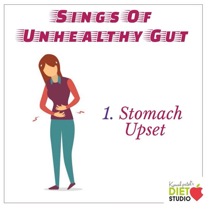 Stomach disturbances like gas, bloating, constipation, diarrhea, and heartburn can all be signs of an unhealthy gut.  symptoms such as bowel irregularity or gas occur when the balance of bacteria is not right.  Gas in particular is a sign that food is fermenting in your gut  as you have insufficient stomach acid or an imbalance of bacteria to break down the food you've eaten.    The number and diversity, of the bacteria living inside your gut impact your overall health and wellness. #guthealth #gut #gutbacteria #stomach #bloating #gas