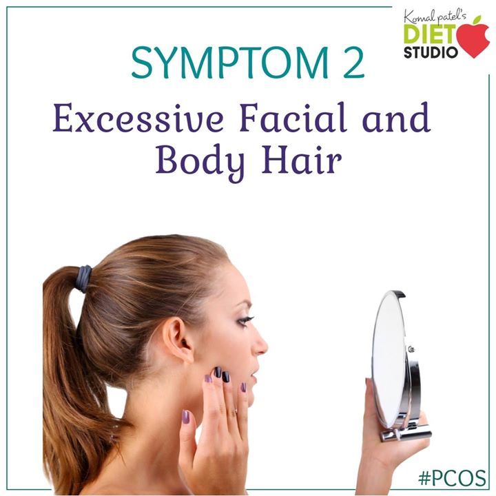 Excess body hair or hirsutism is one of the most dreaded PCOS symptoms. PCOS is considered as the most common cause of hirsutism. You may start to notice thick, dark, masculine pattern hair growth on various parts of the body. These parts include the chin, along the jawline, around the mouth, arms. The underlying cause of excess hair growth is hormonal imbalance with high androgen levels. #pcos #pcoslife #pcoslifestyle #symptom #hirsutism #lifestyle #health