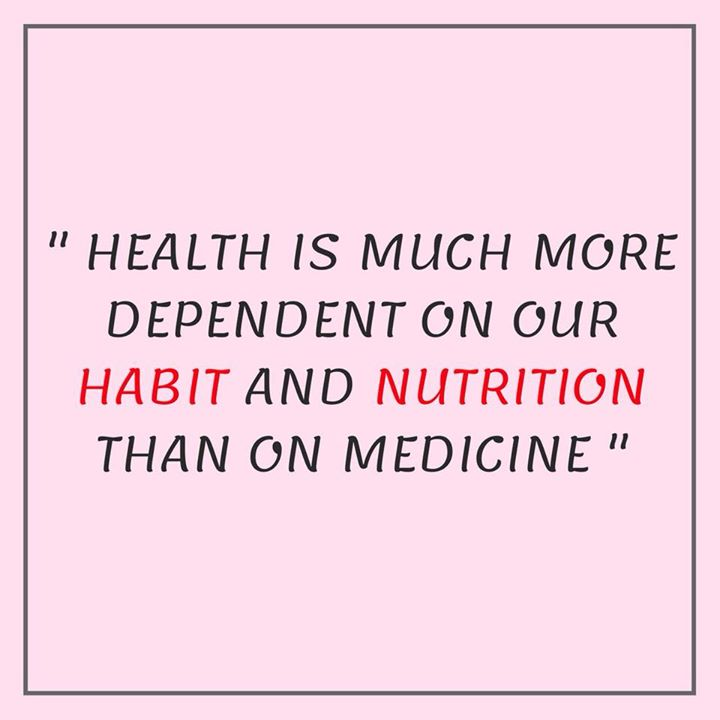 Isn't it true... #habit #nutrition #healthyhabits #health