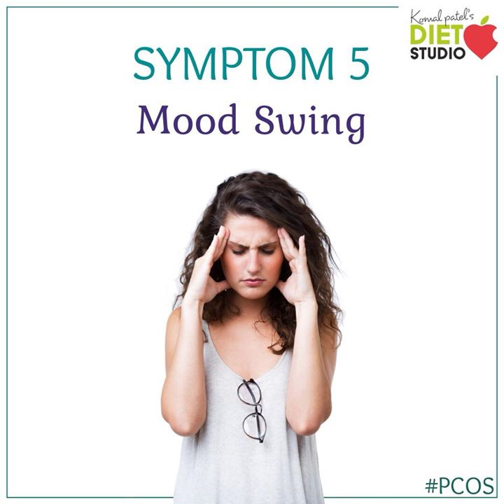 Having PCOS can increase the likelihood of mood swings, depression, and anxiety. #pcos #pcoslife #symptom