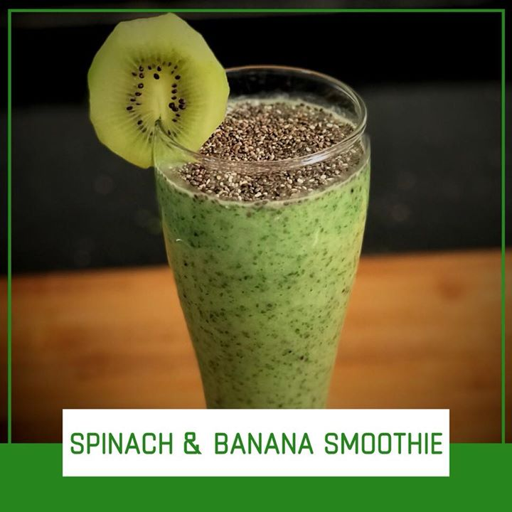 A smoothie made with banana and spinach provides your body with several essential nutrients, including vitamins A and K. Almond milk added to it adds on protein and makes this smoothie a good healthy breakfast .. Check out for the recipe on this link  https://youtu.be/YWS0_-Ep-zM #smoothie #kiwi #spinach #breakfastsmoothie #healthyrecipe