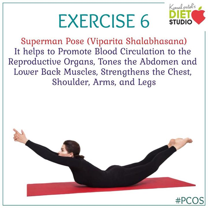Exercise for pcos #pcos #pcoslife #exercise #yoga #pose