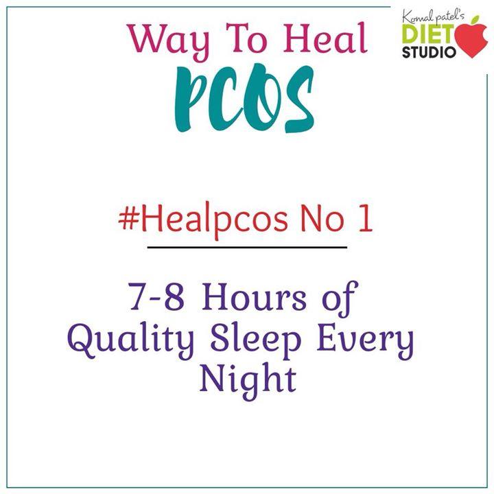 Komal Patel,  pcos, pcoslife, healpcos, sleep, importance