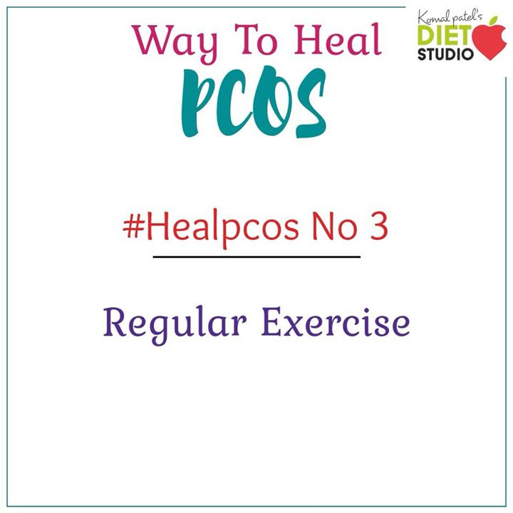 Exercise is hugely beneficial in managing your PCOS symptoms. #pcos #healpcos #exercise #pcoslife