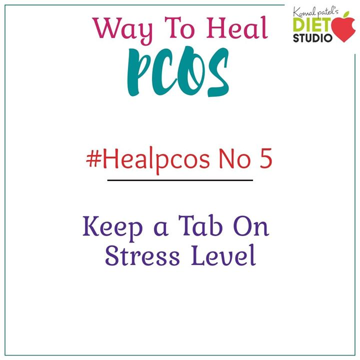 Stress is the main factor involved in this kind of disease may it be professional stress , educational stress, environmental or even personal stress leading to stress at your tissue and cellular level. Hence choose a way to destress yourself. #pcos #pcoslife #destress #health #fit