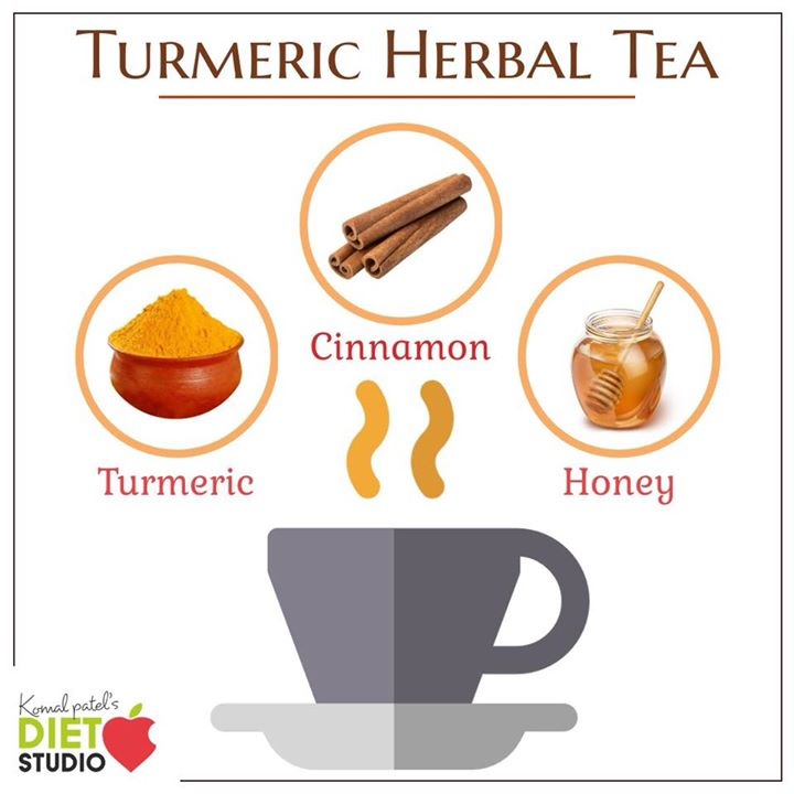 Aside from being a soothing drink, turmeric tea is loaded with numerous healthy components and nutrients. The impressive benefits of turmeric ginger tea include eliminating inflammation, increasing cognition, preventing cancer, strengthening the immune system, and easing gastrointestinal distress. It also aids in protecting the heart, regulates diabetes, soothes pain, counters depression, and improves the skin quality. #turmerictea #herbaltea #tea #monsoon #health #turmeric #cinnamon