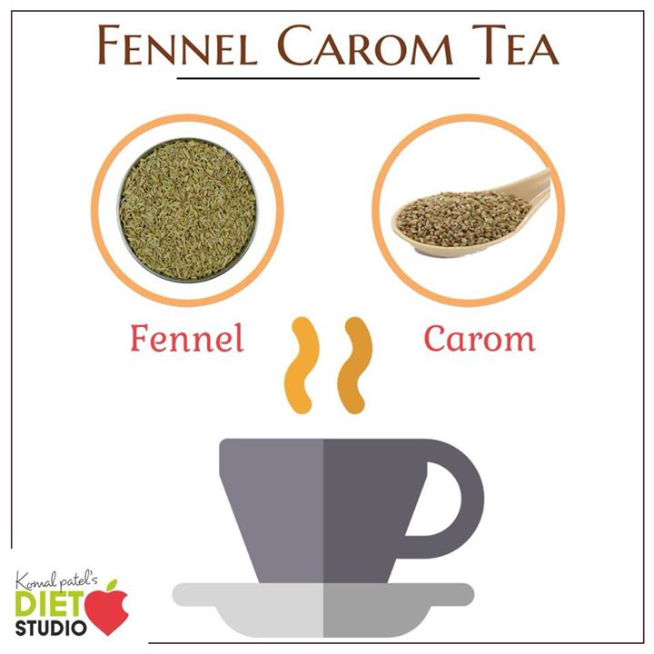 Fennel carom tea is good in curing and treating of indigestion. #tea #herbaltea #fennel #carom #ajwain #herbal