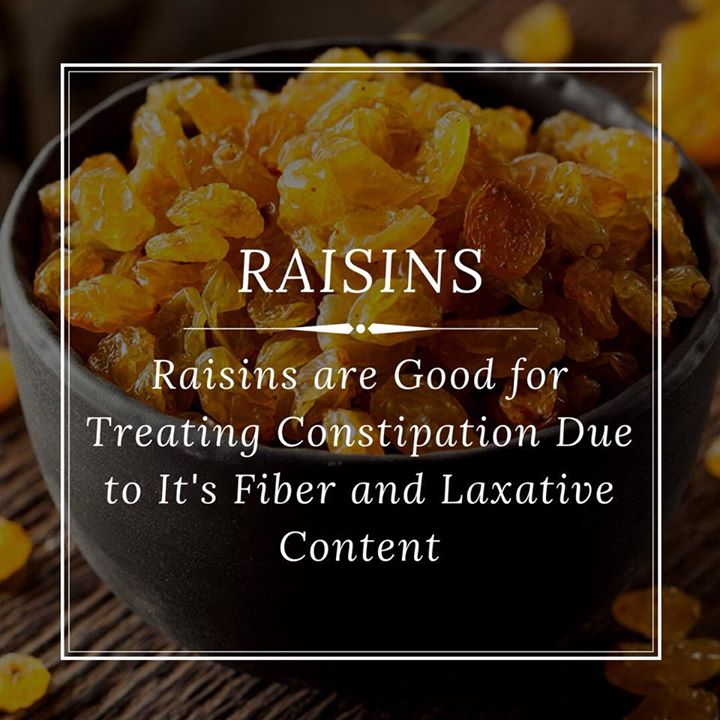 Raisins are an effective and healthy natural remedy to fight constipation. These easily available and affordable snacks are packed with large amounts of fibre, which plays a key role in relieving constipation and aids in digestion.  Have them in soaked form or have it after meals. But remember moderation is the key for balance. #raisins #constipation #digestion #remedy #dryfruit #driedfruit