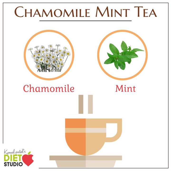 Chamomile is said to soothe stomach aches and to help you get to sleep. And peppermint is also said to be great for digestive troubles. #chamomile #tea #benefits #herbaltea