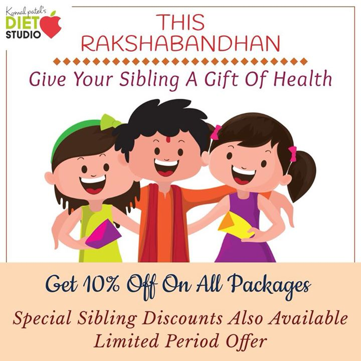 Give your sibling gift of health. Packages Weight loss Pcos Thyroid #dietplan #diet #weightloss #dietstudio #gift #health #package