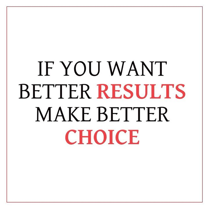 Isn't it true? #results #choice #healthychoice #fit