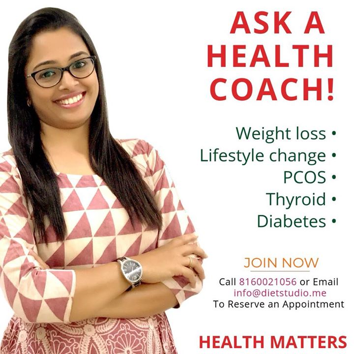 A qualified Dietitan has answers to all your health queries and  with scientific approach gives you guidance for the health goals. #dietstudio #komalpatel #dietitian #diabeticeducator #dietclinic #clinic #dietplan