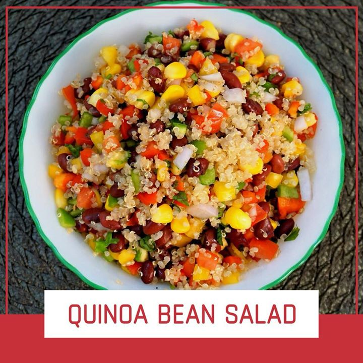 Quinoa is gluten-free, high in protein and one of the few plant foods that contain all nine essential amino acids. It is also high in fiber, magnesium, B vitamins, iron, potassium, calcium, phosphorus, vitamin E and various beneficial antioxidants. So check out for delicious and healthy quinoa bean salad recipe.  https://youtu.be/RFXbOArTYOo #qunioa #youtube #recipe #healthyrecipe #qunioasalad #salad #healthysalad #proteinsalad