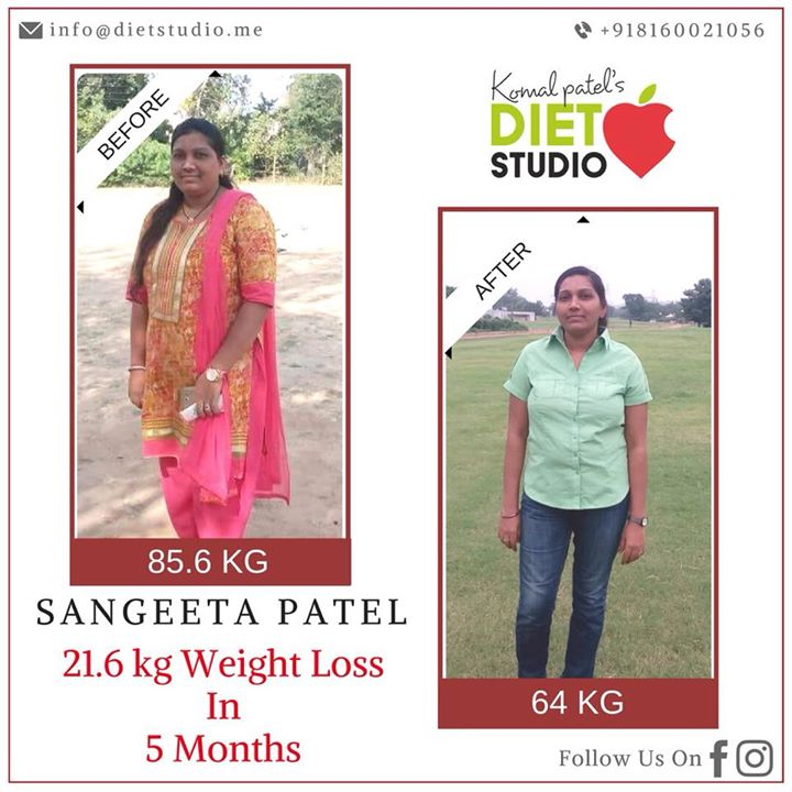 Yet another achievement of our client Sangeeta Patel. The picture says it all, her hard work, dedication and her willingness to be a super healthy mom. Congratulations Sangeeta  #weightloss #fatloss #dietstudio #happyclients #dietplan #dietitian #testimonial #transformation #fattofit