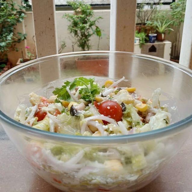 Komal Patel,  proudmoment, saladbowl, salad, bowl, healthyeating, healthybowl