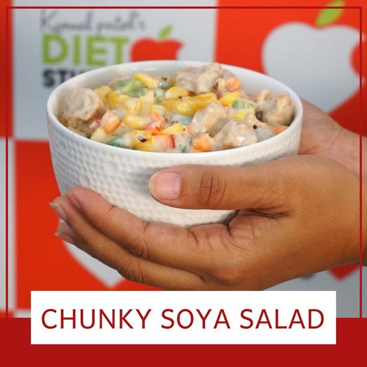 Soybeans have a wealth of benefits, including their ability to improve the metabolism, help in healthy weight gain, improve digestion, promote bone health, and generally tone up the body. Check out a quick healthy recipe made with soya chunks. https://youtu.be/68okR9Egc18  #soya #soyabean #soy #soychunks #recipe #youtube #subscribe #healthyrecipe #healthysalad #salad