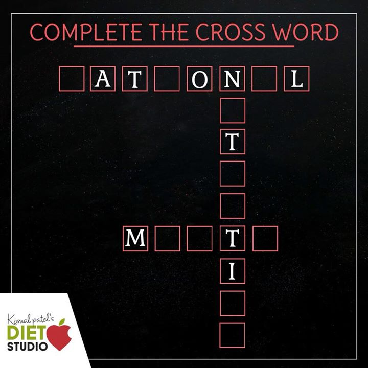 Komal Patel,  nutrition, crossword, health