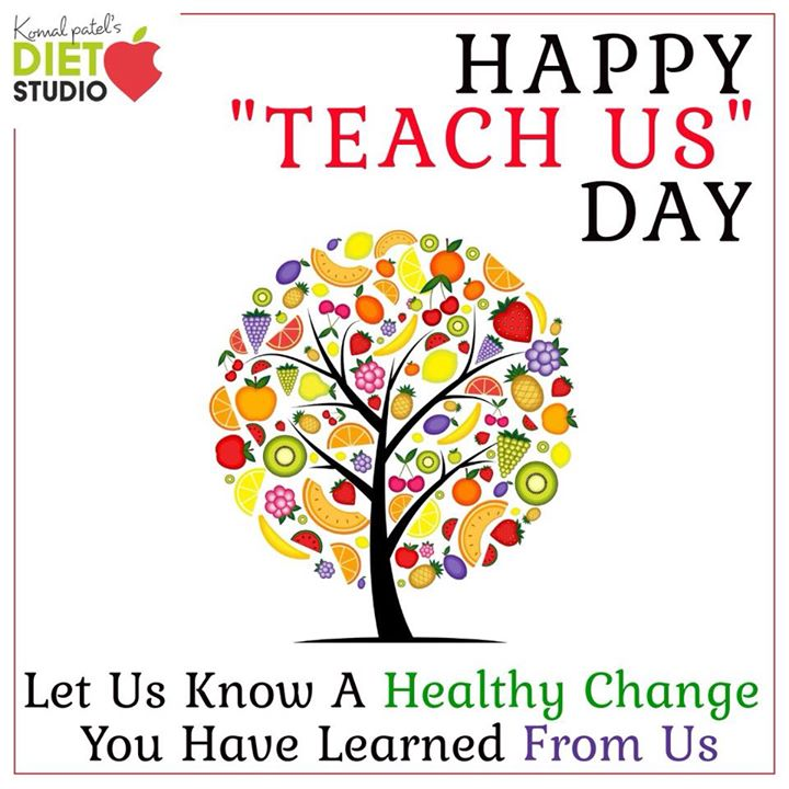 Happy teachers day.  KEY to success K- keep  E- educating Y- yourself Let us know 1 good healthy change you have learned from us ... Let's build a healthy nation by teaching and learning a healthy lifestyle. #teachersday #teach #learn #key #success #healthy #healthylifestyle