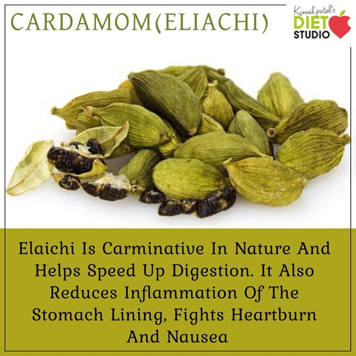 Cardamom has been used as a spice and a traditional medicine in many cultures. Modern science shows that cardamom may help improve gut health, lower cholesterol and chronic inflammation, reduce blood pressure. #cardamom #eliachi #benefits #digestion