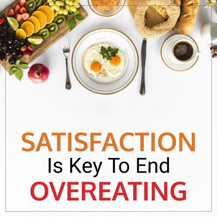 Eating when you are hungry and stopping when you are satisfied is one of the keys to healthy eating and living. All you need to do is • Eat slowly  • Eat mindfully  #healthyeating #mindfuleating #healthylifestyle #food #health #overeating