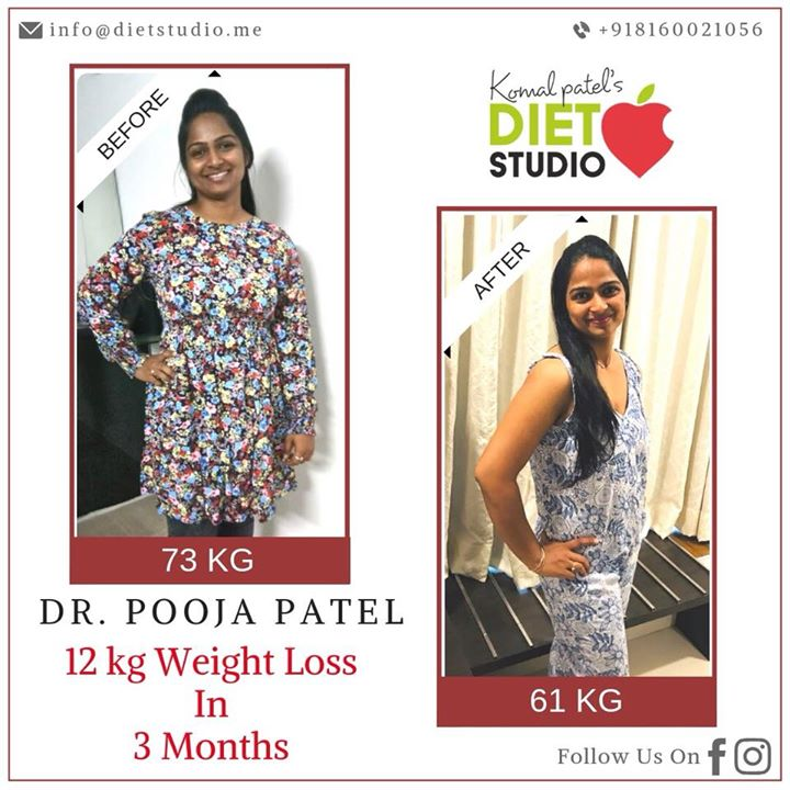 Yet another one.  The picture says it all.  absolute transformation from fat to fit with eating smart.....  Best efforts always pays off...  Good luck Dr Pooja  No pills, No starving, No faddiets  #weightloss #fatloss #weightlossjourney #fattofit #client #happyclient #truestory #loseweight #getitright #fitnessgoal #mom #doctor #eatsmart #diet #dietclinic #dietstudio #transformation #dietitianahmedabad #gujaratdietitian #diabeticeducator #nutrionist