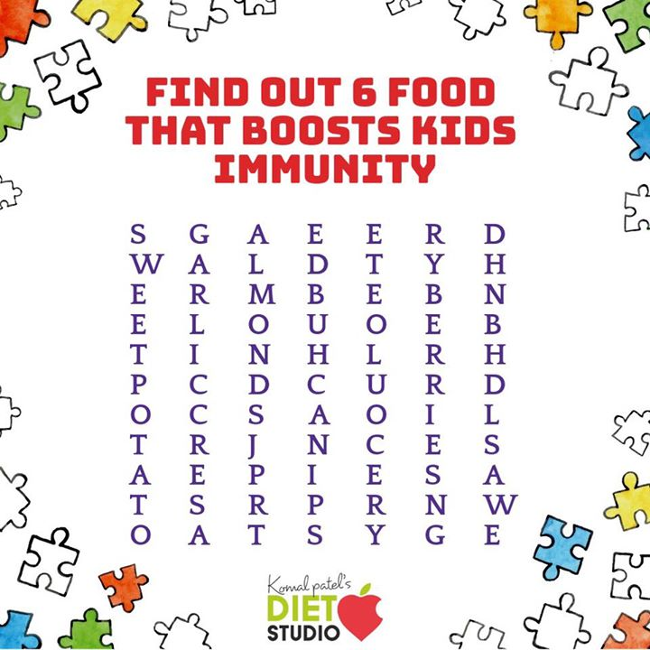 Find out 6 food that boosts kids immunity...