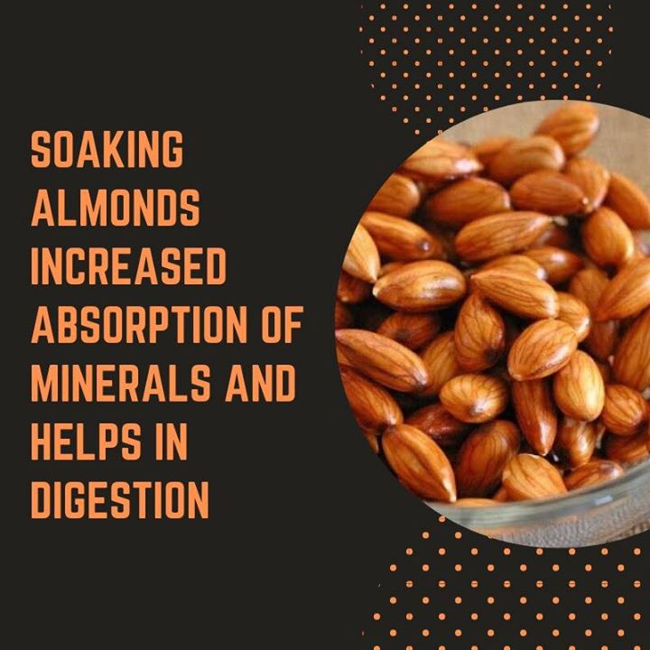 Do u soak your almonds?  #almonds #benefits #digestion