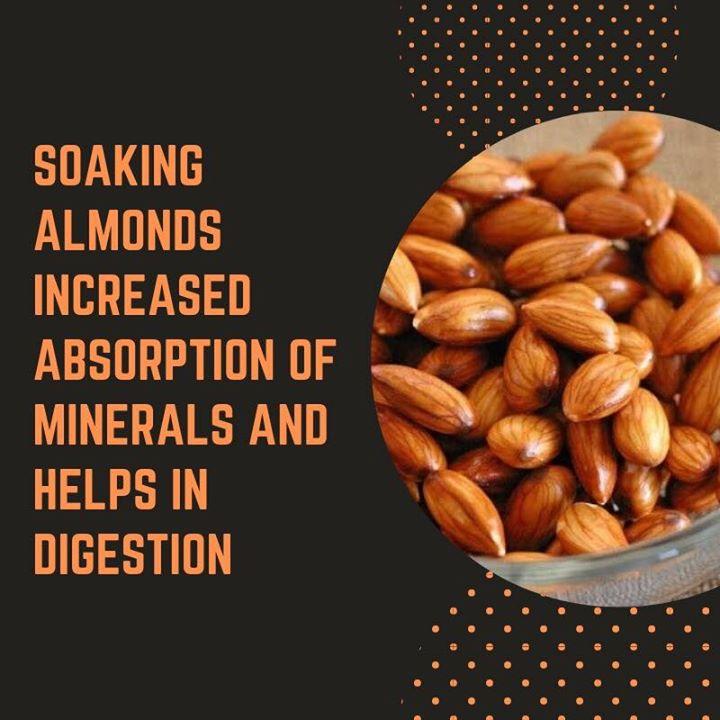 Komal Patel,  almonds, benefits, digestion
