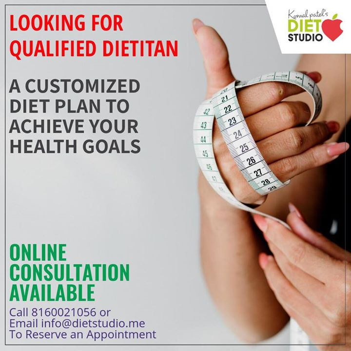 Looking for a qualified Dietitan.... Contact us for a customized, research based diet plans #diet #dietplans #weightloss #weightlossplan #weightlossdiet #dietclinic #komalpatel #dietitian #nutrition