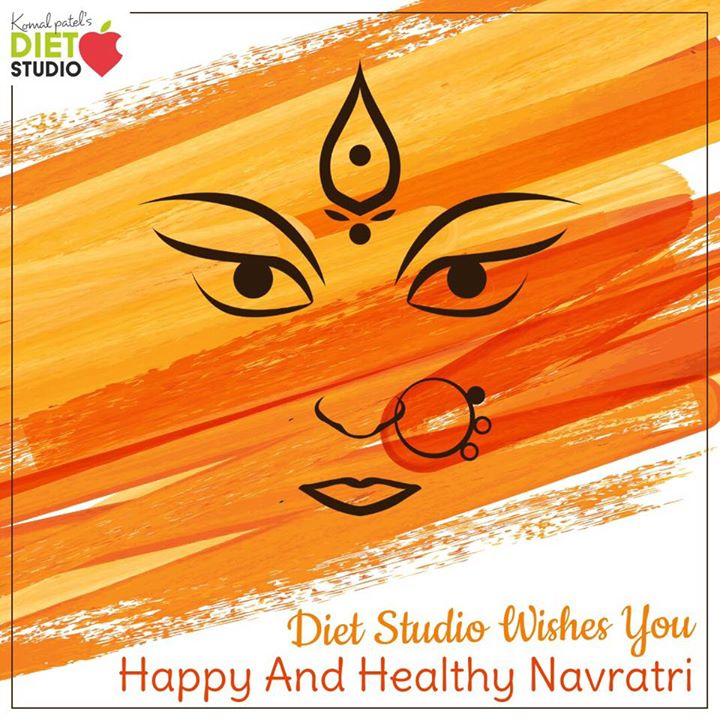 May Maa Durga empower you with her nine blessings of name, fame, health, wealth, happiness, peace, humanity, knowledge and spirituality Happy Navratri  #navratri #navratra #komalpatel #dietitian #dietstudio