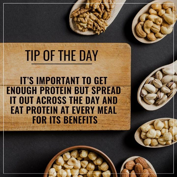 Proteins are critical components of all tissues in the human body and have crucial roles in metabolism, immunity, fluid balance, and energy. It's important to balance the protein at every meals to fulfill its requirements. #protein #proteinmeal #proteindiet #proteinrich #balanceddiet