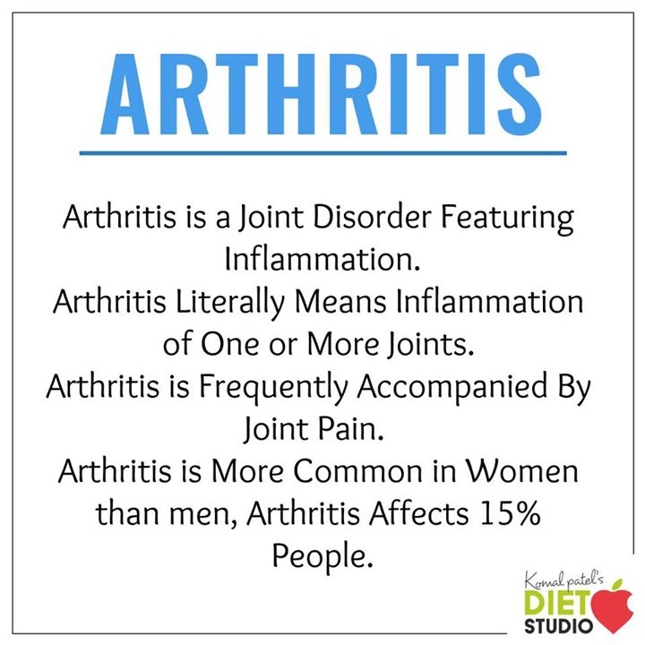 Arthritis is a common condition that causes pain and inflammation in a joint. Check out for the symptoms and food for arthritis.  #arthritis #symptoms #food #jointpain #disorder