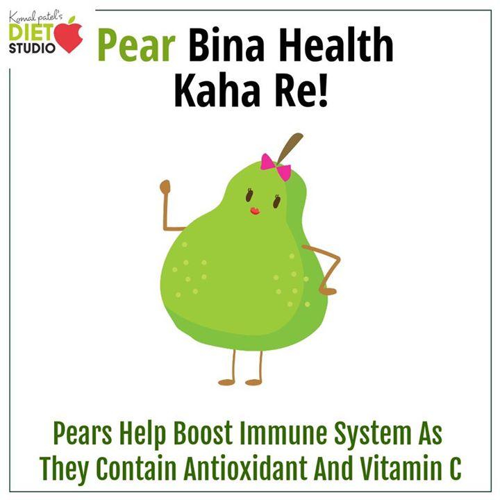 Pear for a better health  #pear #fruit #health #healthyfruit #immunity #antioxidant #vitamins