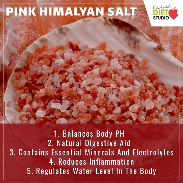 Pink Himalayan sea salt contains over 84 minerals and trace elements, including calcium, magnesium, potassium, copper and iron, so it does more than just make your food taste better.  #himalayansalt #salt #rocksalt #pinksalt #nutrition #minerals