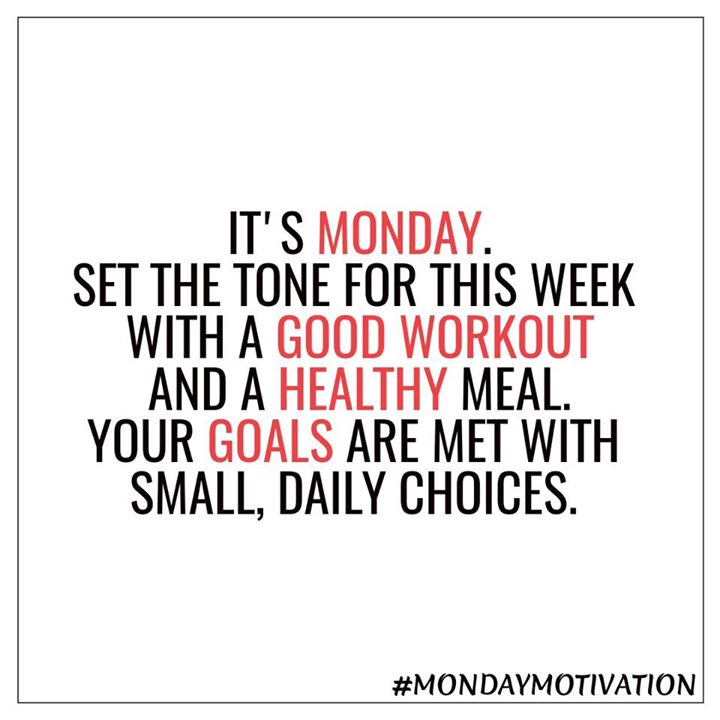 #mondaymotivation #workout #healthymeal #healthylifestyle #goals #healthgoals